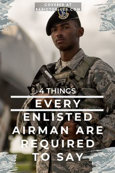 4 things every enlisted Air Force airman will be required to say. Most airmen learn these in Air Force basic training. Air Force Basic Training, Army Basic Training, Military Training, Military Girlfriend, Military Women, Air Force Girlfriend, Military Humor, Military Spouse, Military Life