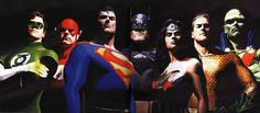Batman v Superman Writer, Chris Terrio may write the Justice League film. For more on this check out this article from DC Comics News. Alex Ross, Dc Comics, Aquaman, Gotham, Comic Books Art, Book Art, Star Trek, Justice League Unlimited, Norman Rockwell