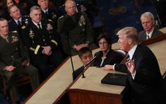 """Donald Trump has completed his first ever speech to Congress as President. And almost every major claim made in it appeared to be false. Much of the speech was focused on rhetoric and policy commitments, but it included a huge range of false claims. (Click on """"Read it"""" for full article.)"""