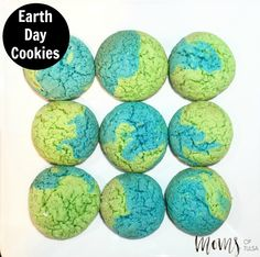 Earth Day Cookies - http://momsoftulsa.com/earth-day-cookies/