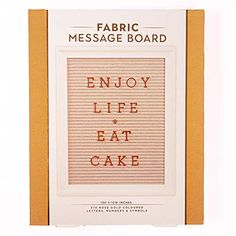 Hanging Fabric, Memo Boards, Message Board, Rose Gold Color, Eat Cake, Numbers, Inspirational Quotes, Symbols, Letters