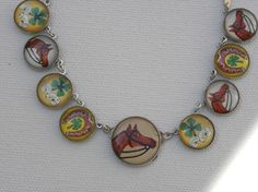 LUCKY IN LOVE Clovers Horseshoe Equestrian by BarbarasButtons, $75.00