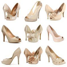 Pretty little bridesmaids shoes.