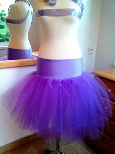 Kreativní šití: Návod na tylovou sukni