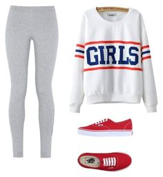 """""""Sans titre #15"""" by leonorabuffo on Polyvore featuring mode, NIKE, Chicnova Fashion et Vans"""