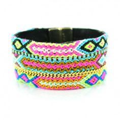 Stacked Frienship Bracelets