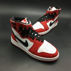 55003b31e30fa9 2018 Womens Nike Air Jordan 1 REBEL XX OG TOP 3 Chicago Sale Best Jordan  Shoes