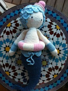 MICI the mermaid made by Joana / crochet pattern by lalylala