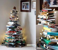Imatges trobades pel Google de http://lilaesthete.files.wordpress.com/2012/12/alternative-christmas-tree-books.jpg%3Fw%3D510%26h%3D438