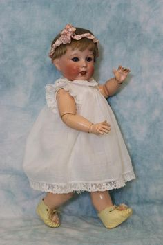 Her original French toddler body has a paper label that reads Fabrication Francaise SFBJ Paris. Incised on back of head is incised 2j S.F.B.J. 251 Paris 6. A short mohair wigs tops her head with a head band which is really cute. | eBay!