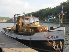 A beautiful reconditioned tug in Belgium