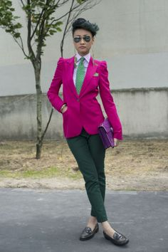 Esther Quek (Okay, I'm getting a little obsessed. But I love her looks.)