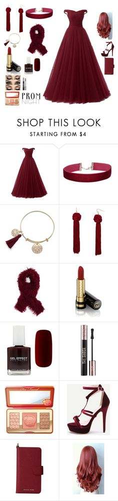 """""""prom BURGUNDY"""" by yogurl-wifey ❤ liked on Polyvore featuring Miss Selfridge, Vanessa Mooney, Toria Rose, Gucci, Forever 21, Yves Saint Laurent, Too Faced Cosmetics, MICHAEL Michael Kors, MyStyle and burgundy"""
