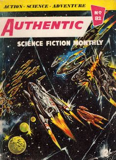 Authentic Science Fiction. Issue No.82, July 1957