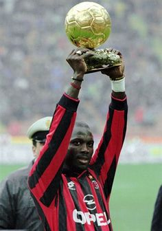 George Weah (Ballon d'Or France Football 1995), Football player from Liberia, West Africa.