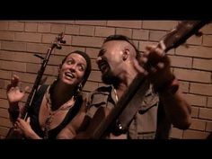 ▶ Nahko Bear & Leah Song 'Black As Night' Unplugged in the Streets of Portland, ME - YouTube