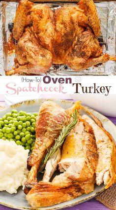 Oven Spatchcock Turk