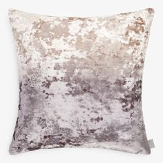 Moonscape. Ombre velvet undulates in the velvet waves of this pillow, hued with small-batch dyes. Inspired by a delicate Japanese aesthetic, each handmade pillow evokes a Zen-like sense of balance and tranquility.