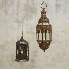 #moroccan #rustic #lantern #candle #garden