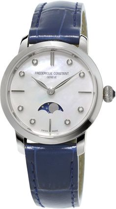 @frederiqueconst Watch Slimline Moonphase #musthave