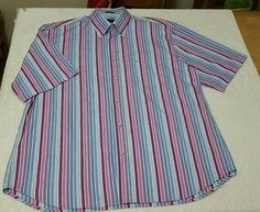 PAUL and SHARK Yachting Short Sleeve Shirt: Europe Size 44 Aus XL Made in Italy