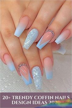 ✔ These Elegant Long Acrylic Nails Coffin Spring Colors are very novel and fabulous, these will give you the in vogue looks and give your nails a totally different edge to them. Summer Acrylic Nails, Cute Acrylic Nails, Acrylic Nail Designs, Spring Nails, Summer Nails, Cute Nails, Nail Art Designs, Nails Design, Pastel Nails