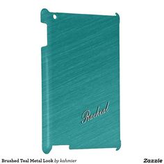 Brushed Teal Metal Look Cover For The iPad 2 3 4 15% off with code ZKICKOFF2017