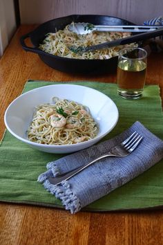 Shrimp and Garlic Scape Scampi | Farm Fresh Feasts http://www ...