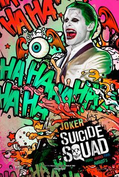 Check out two new batches of Suicide Squad character posters, one featuring some of the best comic book movie poster art we've ever seen.