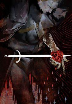 Dragon Age II - Hawke and Anders by yangngi on DeviantArt