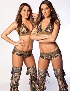 The Bella Twins (Nikki left, Brie right) Army Brats WWE Photo Shoot Trap Music Mix Vol #2 https://www.youtube.com/watch?v=8KsOXC23cKs&list=PLZ_qGEoAYMUR3zj5BaX2495bx7aluBZIX&index=2