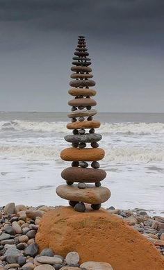 Tower of rocks is like a regular tower because if there is a shake it will fall