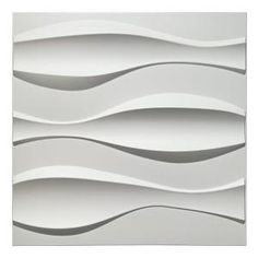 Ekena Millwork 3/8 in. x 23-3/8 in. x 23-3/8 in. Large Marrakesh White Architectural Grade PVC Decorative Wall Panels-WALP24X24MRK - The Home Depot Vinyl Wall Panels, Decorative Wall Panels, Wood Panel Walls, Decorative Tile, Wood Wall, 3d Panels, Fence Panels, Embossed Wallpaper, Wallpaper Panels