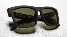 """SPY introduces their premium polarized glass lenses called Happy Glass that is Trident polarized and only allows the sun's """"good"""" rays to enter."""