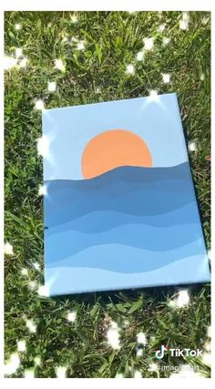 Small Canvas Paintings, Easy Canvas Art, Small Canvas Art, Cute Paintings, Mini Canvas Art, Diy Canvas, Wall Canvas, Canvas Painting Tutorials, Diy Painting