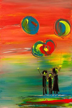 """""""Perfect Day"""" Acrylic on Canvas Art World, Art Gallery, Lisa, Inspired, Canvas, Artist, Painting, Inspiration, Tela"""