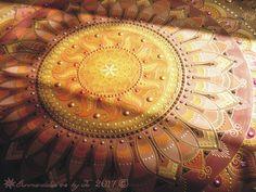 Napmandala Életvirága szimbólummal Napfényben Sunmandala with Flower of Life symbol in Sunshine Sunmandalas by Je 2017 (C) Napmandalák- Jé- 2017