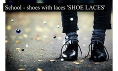 """Shoes with laces """"Shoe laces"""" Holga, School Shoes, Favim, Just In Case, All Black Sneakers, Life Is Good, Shoe Boots, In This Moment, My Style"""