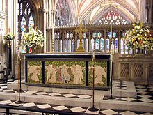 Altar of Anglican Church Catholic Mass, Roman Catholic, Lords Supper, Evening Prayer, Anglican Church, The Tabernacle, Early Christian, Eucharist, Deities