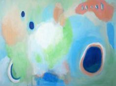 """Saatchi Art Artist Alice Lo; Painting, """"Cotton Candy"""" #art Abstract Expressionism, Abstract Art, Pink Abstract, Original Paintings, Original Art, Candy Paint, Candy Colors, Cotton Candy, Buy Art"""