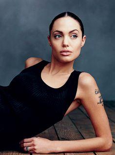 Angelina Jolie by Annie Leibovitz