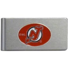 """Checkout our #LicensedGear products FREE SHIPPING + 10% OFF Coupon Code """"Official"""" New Jersey Devils Brushed Metal Money Clip - Officially licensed NHL product Brushed metal money clip Strong clip securely holds your cash Makes a great gift for an avid sports fan Money ClipsNew Jersey Devils emblem - Price: $15.00. Buy now at https://officiallylicensedgear.com/new-jersey-devils-brushed-metal-money-clip-hbmc50"""