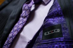 Suit, tie and shirt from David's Master Collection.  Manufactured in the US with Italian fabrics.