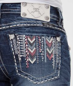 Miss Me Embroidered Ankle Skinny Stretch Jean - Women's Jeans | Buckle