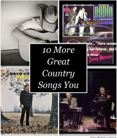 10 More Great Country Songs You Have Probably Never Heard   10 More Great Country Songs You Have Probably Never Heard