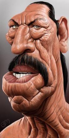 Bruno Munier caricature of Danny Trejo Cartoon Faces, Funny Faces, Cartoon Drawings, Cartoon Characters, Funny Caricatures, Celebrity Caricatures, Famous Cartoons, Funny Cartoons, Cartoon Kunst