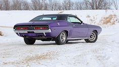 1971 Dodge Challenger R/T 440 Six Pack, 4-Speed