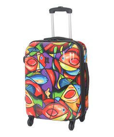 Painted Fish 30'' Expandable Wheeled Travel Case - Zulily