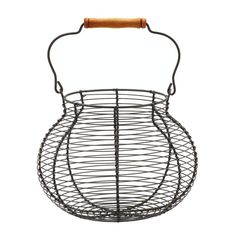 Home Decorators Collection 7 in. Egg Basket-9306600270 - The Home Depot