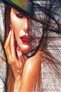 Fashion Flair Digital Art by Rafael Salazar